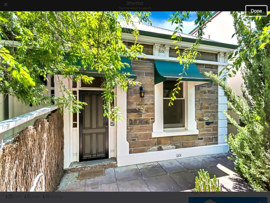 Fresh & lovely central cottage - Adelaide - Casa