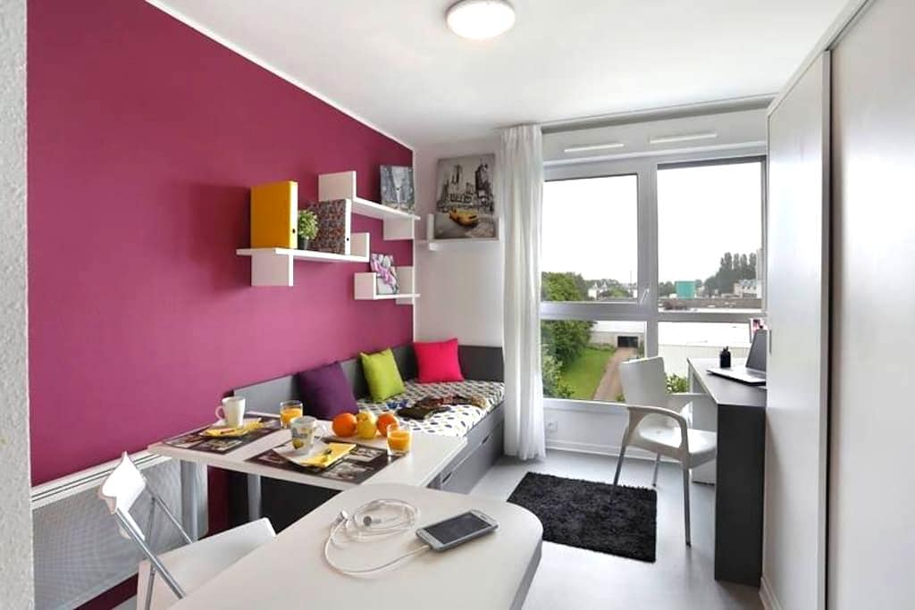 studio résidence neuve avec salle de sport - Digione - Appartamento
