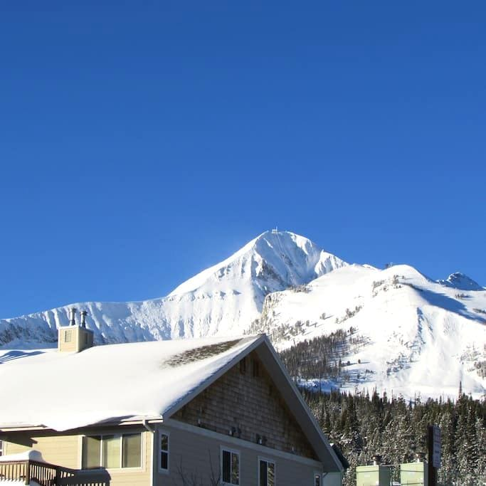 Affordable 2Bed/2Bath Condo-Walk to Big Sky Skiing - Big Sky
