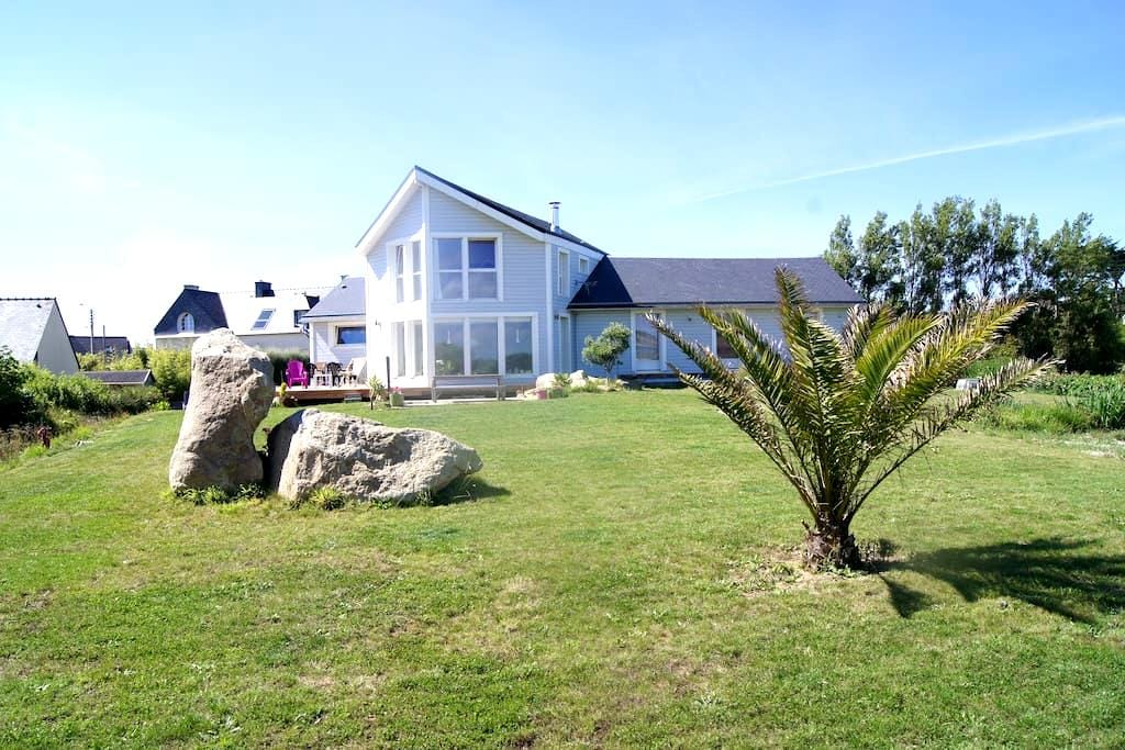 Cosy apartment 100 m from the beach - Guissény