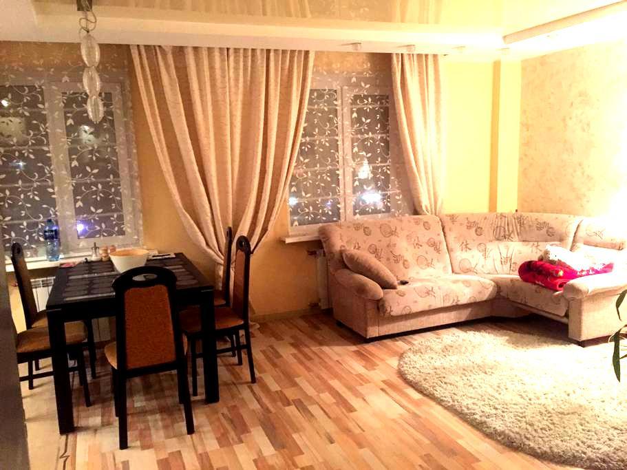 Уютная и просторная квартира со всеми удобствами. - Минск - Appartamento