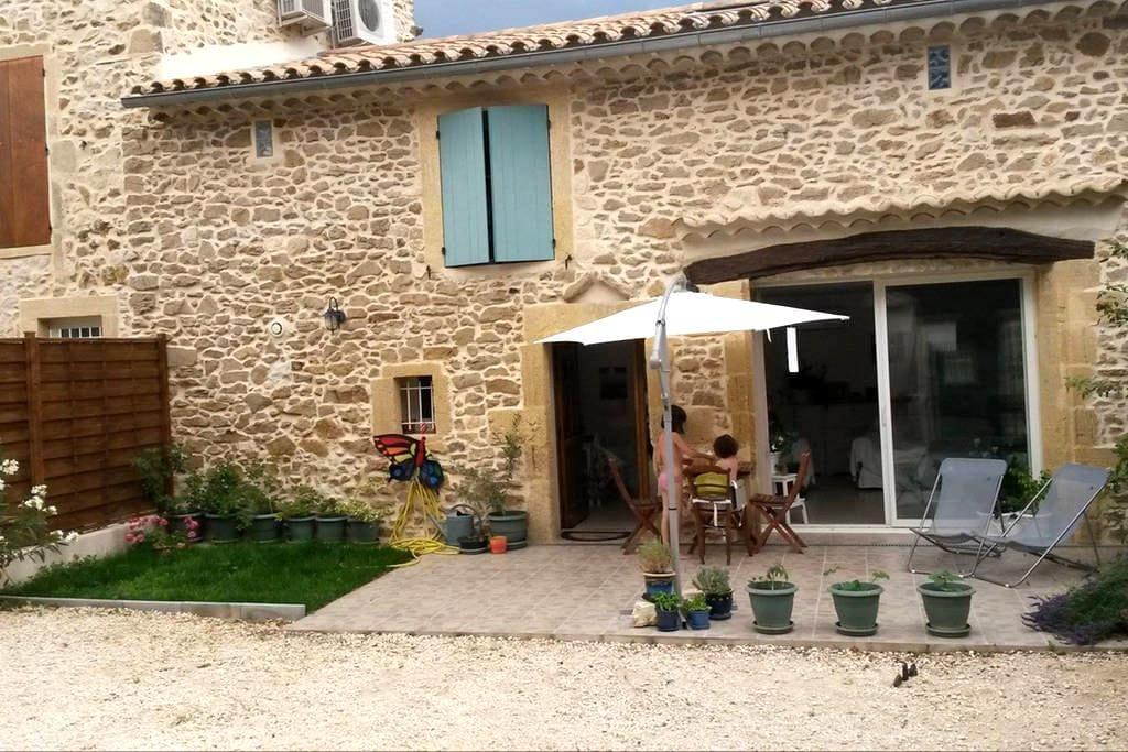 South of France, near Pont-du-Gard - Saint-Paul-les-Fonts
