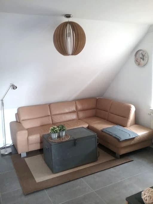 Monteure,Messegäste,citynah angenehm übernachten - Lehrte - Condominium