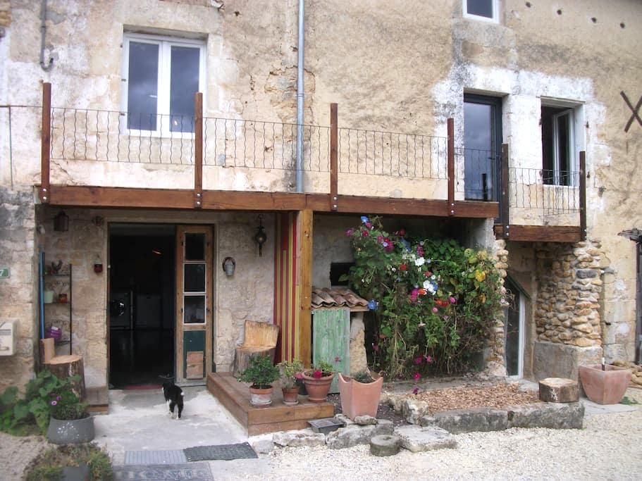 Chambre calme, confortable dans un cadre charmant - Chiré-en-Montreuil - Dom