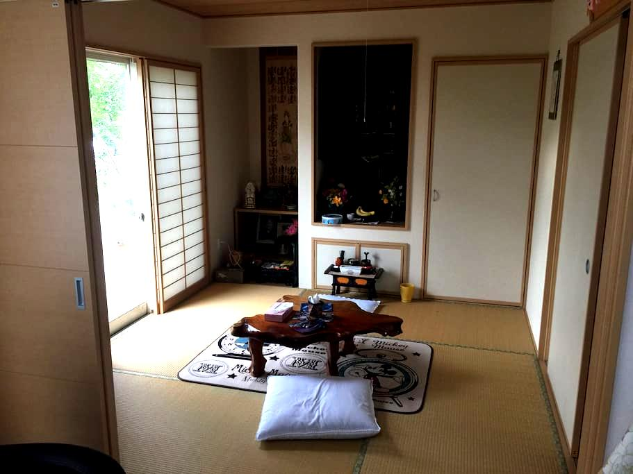 New! private room D guesthouse @near station - 宮崎市 - Hus