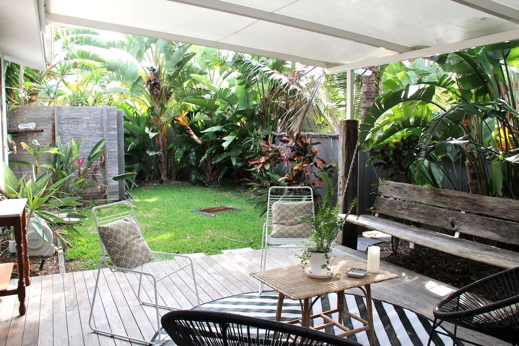 Stunning Coastal Garden Cottage - Marcus Beach - Apartamento