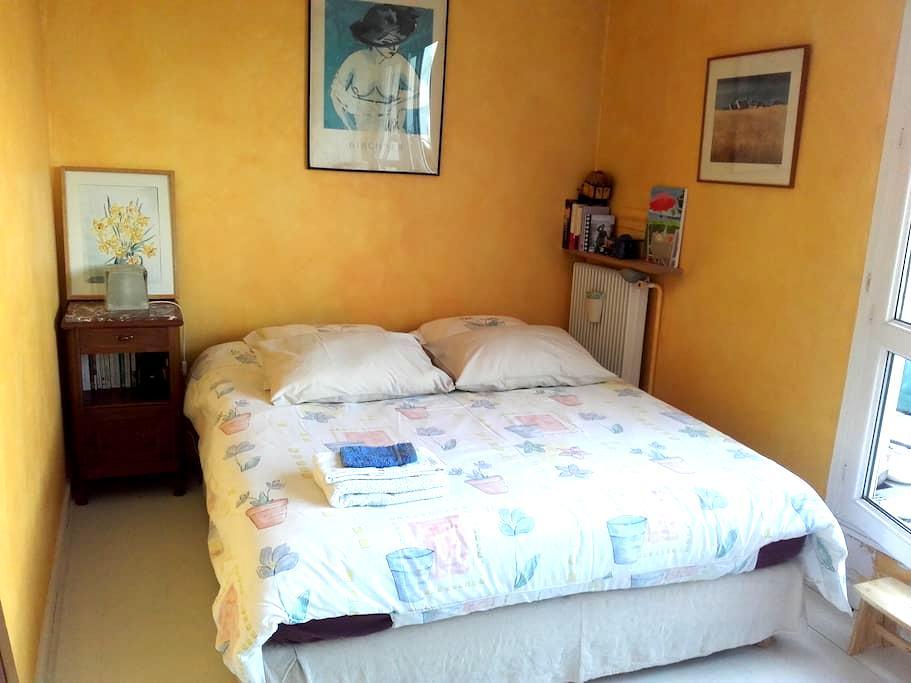 Chambre calme avec balcon Nation/Bois de Vincennes - Paryż - Apartament