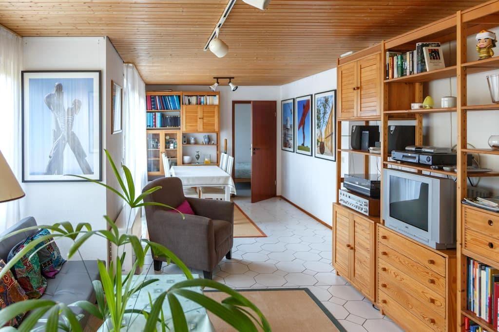Sonnige Wohnung am Rand des Schwarzwalds. - Birkenfeld