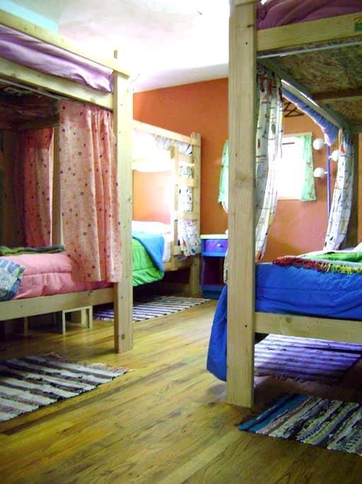 The Wanderlust Hostel - Dorm Bed G1 - Gunnison - Dortoir