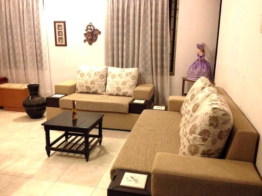 Cozy AC bedroom close to the beach - Chennai