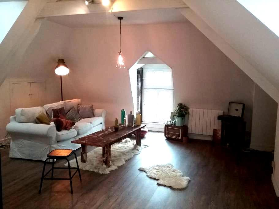 jolie appartement port de Dinan - Dinan - อพาร์ทเมนท์