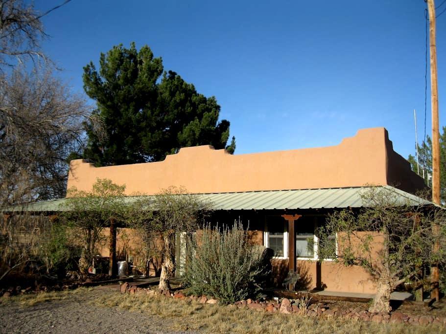 Rural Rio Grande Pecan Farm Casita - Hatch - Gästhus