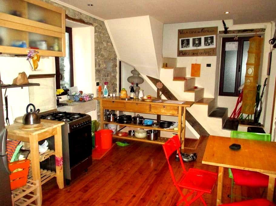 casa rustica nel centro storico - Ceriana - Apartment