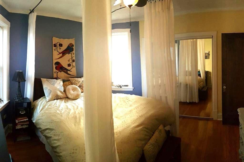 Charming Bedroom in West Ridge - Chicago - Apartamento