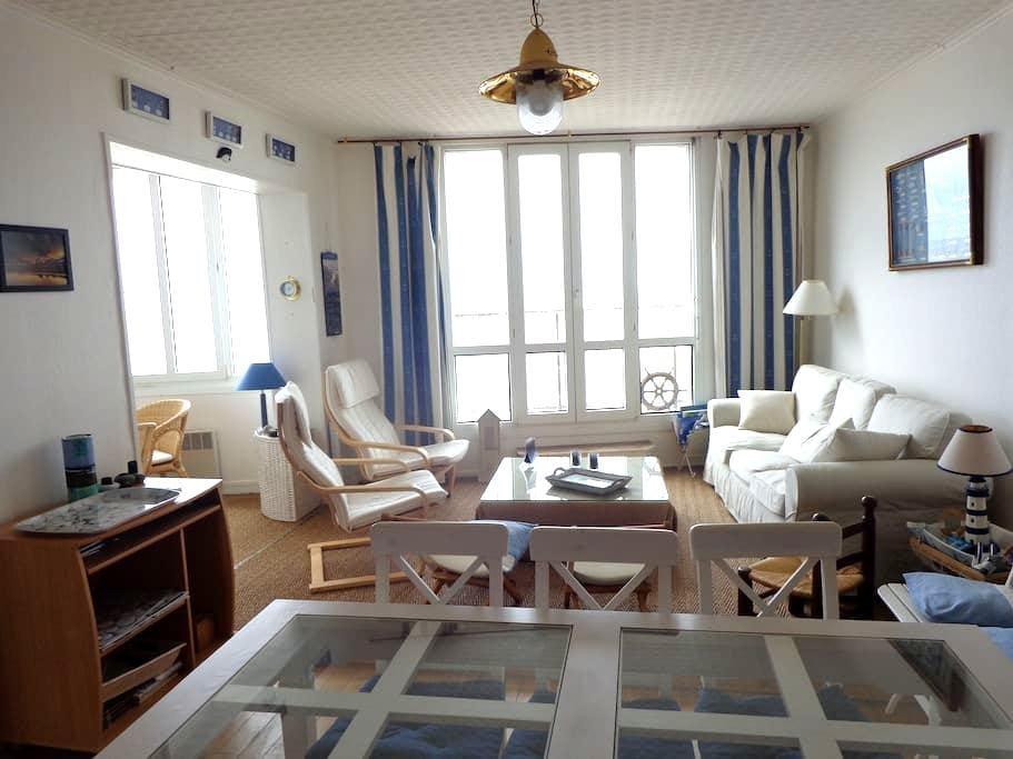 Bel appartement front de mer - Mers-les-Bains - Wohnung
