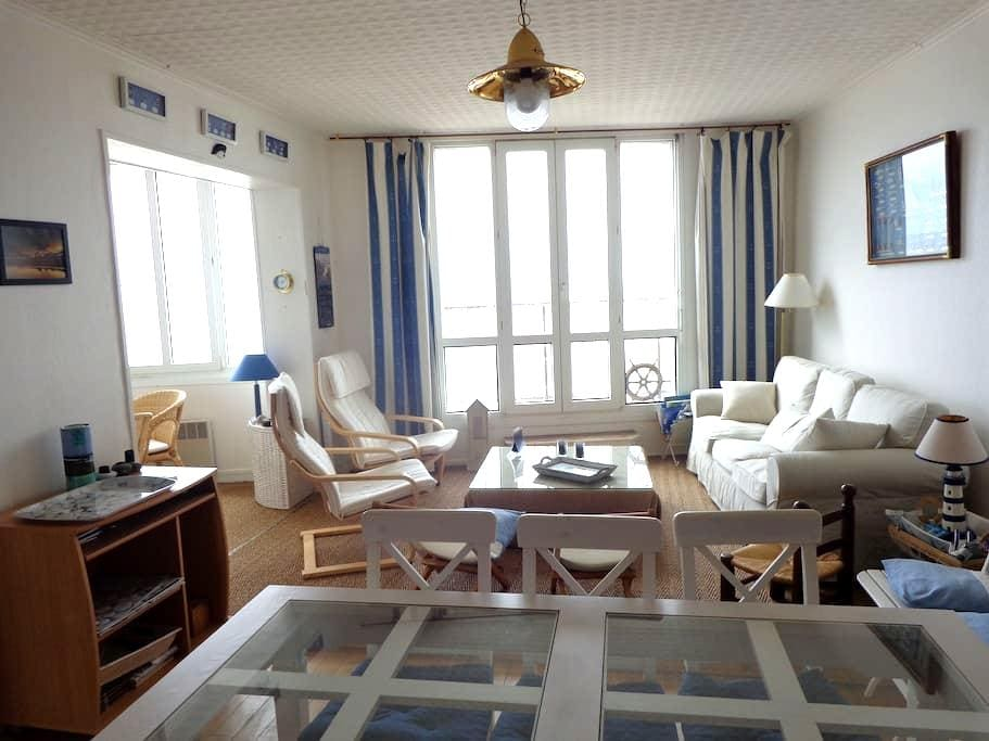 Bel appartement front de mer - Mers-les-Bains - Apartamento