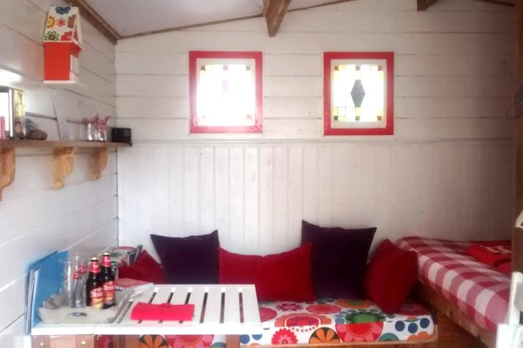 Cosy cabin with private facilities - Den Burg - Andere