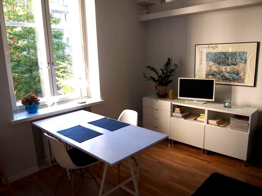 Bright, modern Design District apt - Хельсинки - Квартира