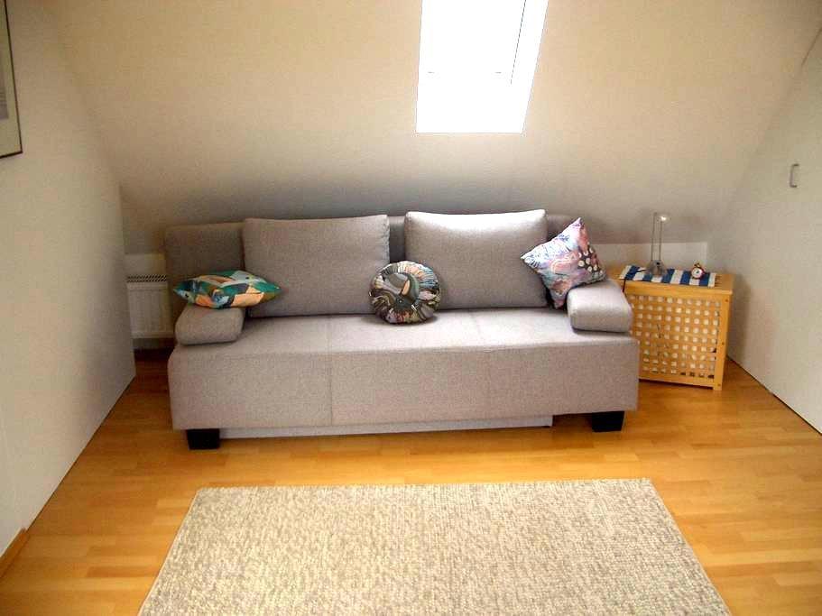 Eigenes gemütliches Zimmer direkt in Bayreuth - Bayreuth - Apartament