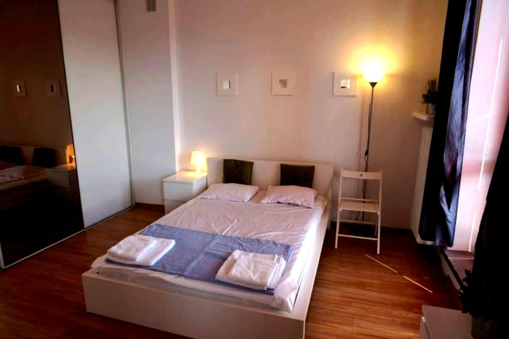 Double bed with privat bathroom, 15min to Central - Zürich - Apartment