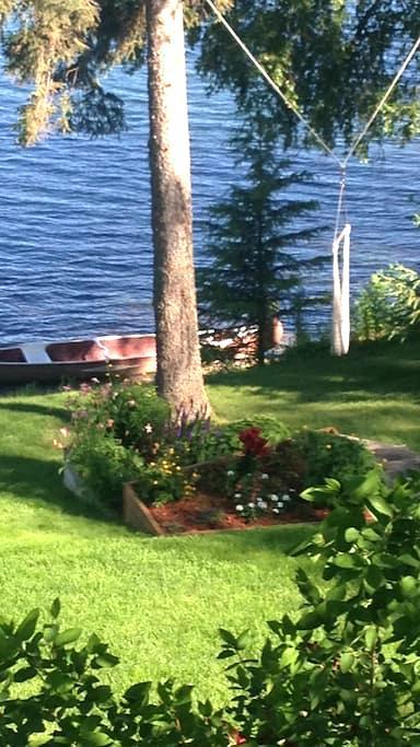 Mary's LakeHouse - The Green Room - Kenai - Bed & Breakfast
