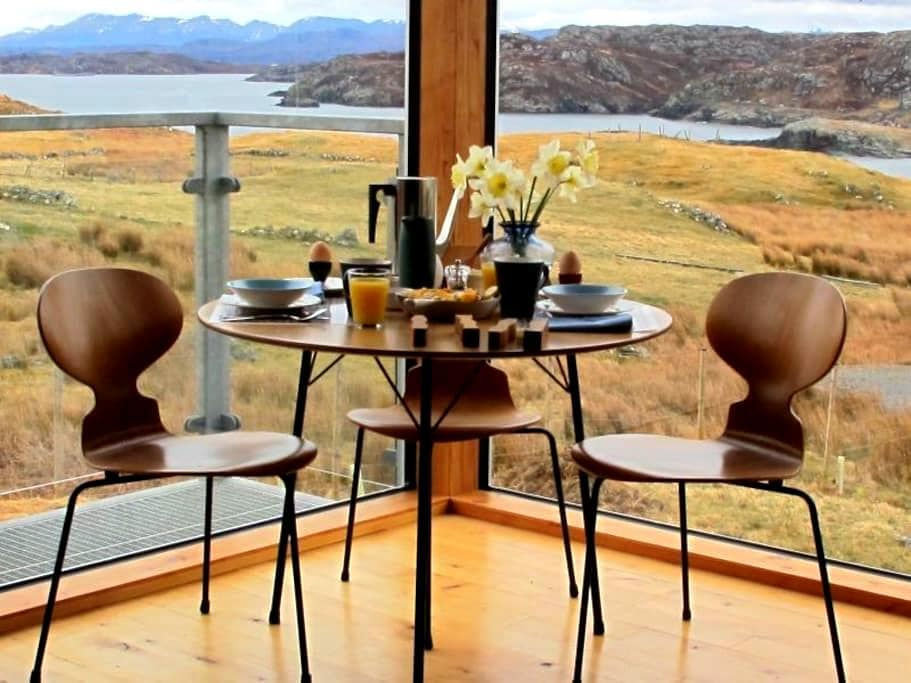 Modernity in the north of Scotland - Clashnessie - House