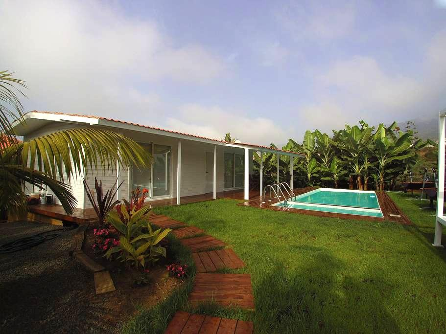 BEAUTIFUL COTTAGE SURROUNDED BY BANANA TREES - Santa Úrsula