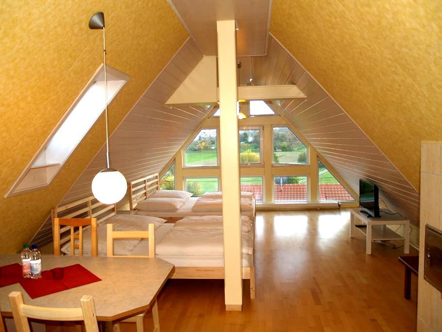 Apartment 7min->Messe 13min->Flughafen Stuttgart - Leinfelden-Echterdingen - Apartamento