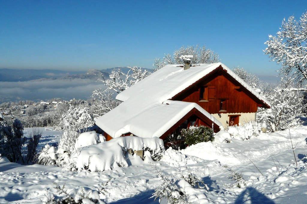 Entre le  lac et le domaine Savoie-Grand Revard - Trévignin - Nature lodge