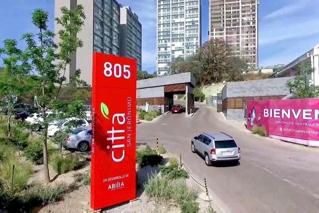 Habitación Citta San Jeronimo - Ciudad de México - Apto. en complejo residencial