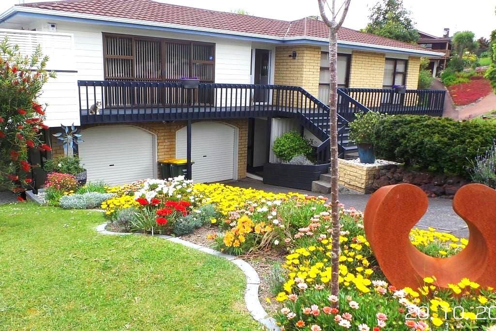 Miacats burrow in beautiful Browns Bay, Auckland - Auckland - House