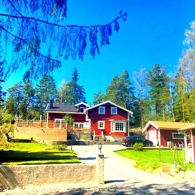 Exclusive&Beautiful Idyllic Villa on countryside - Vendelsö - Casa