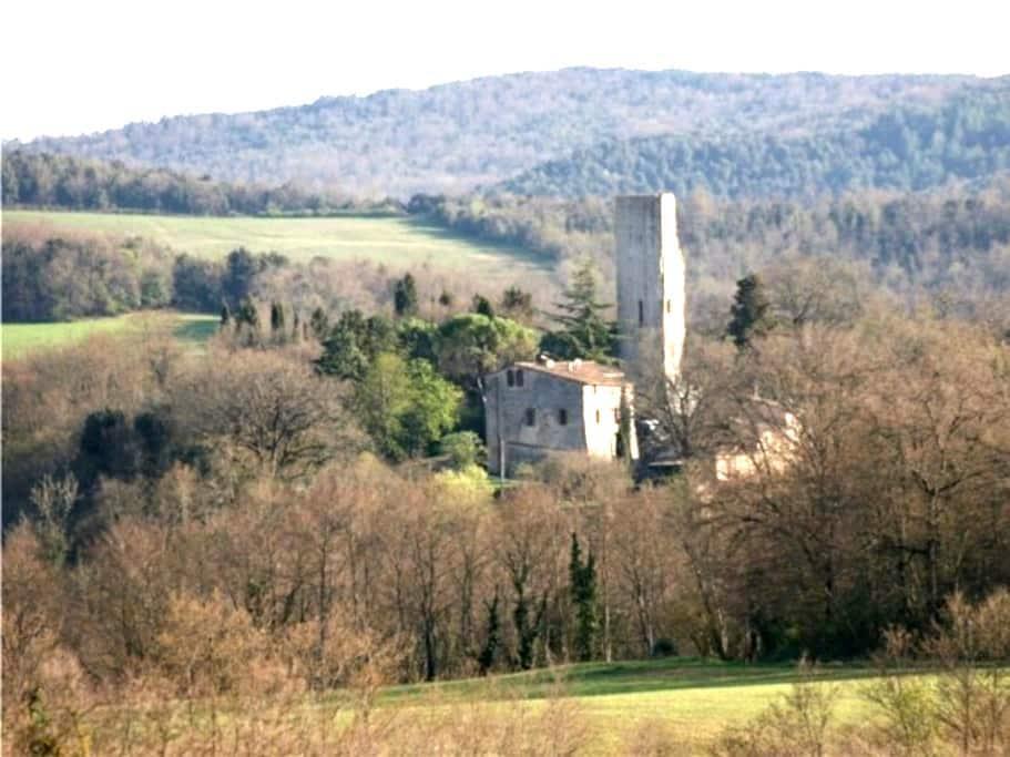 Torre di Sant'Ansano Siena, Tuscany - Monteroni d'Arbia - Flat
