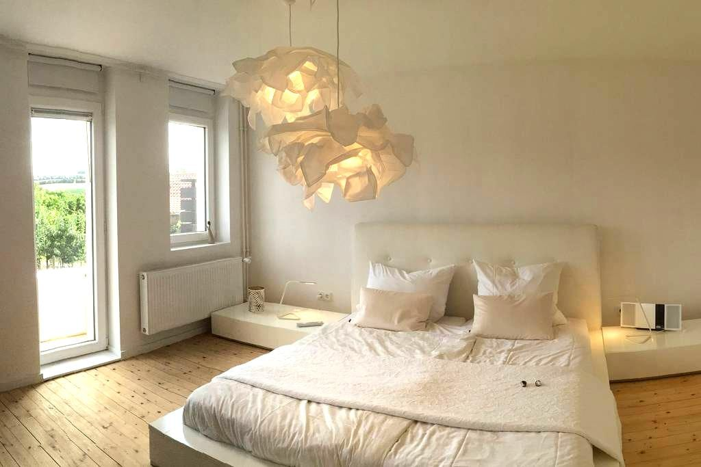 Charmantes-Design-Ferienhaus am Weinberg - Flonheim