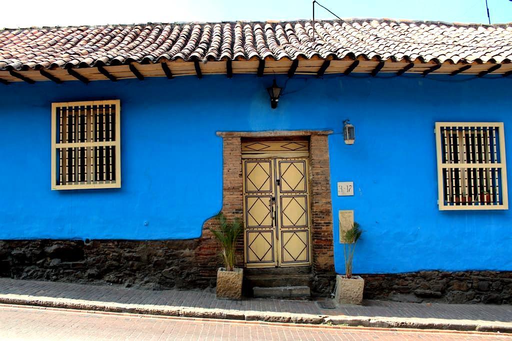 Charming Apartment in La Candelaria - Bogota - Daire