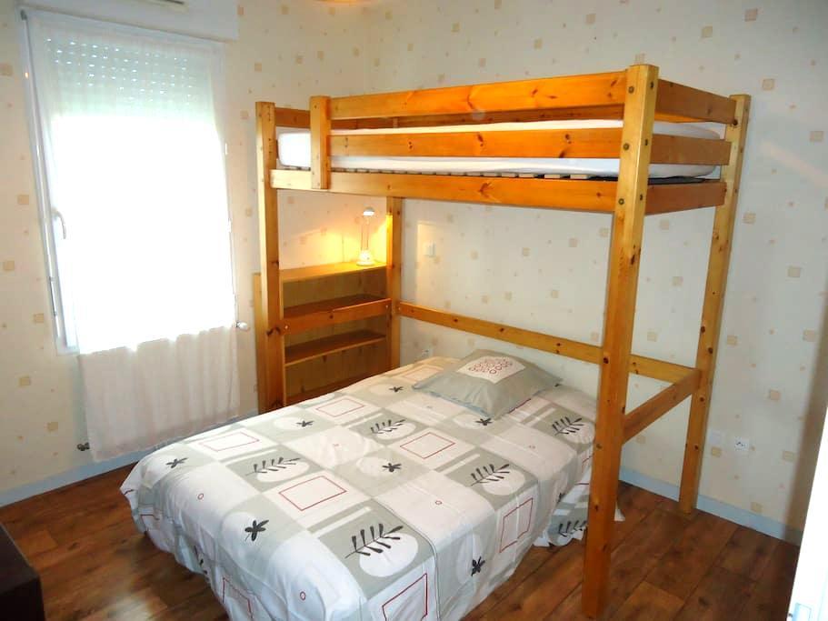 Chambre dans quartier calme - Capbreton - Ev