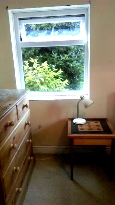 Double room in ground floor flat garden view. - บริสตอล