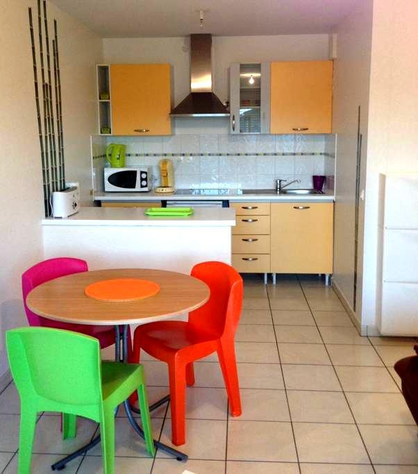 appartement proche océan tarnos - Tarnos - Apartamento