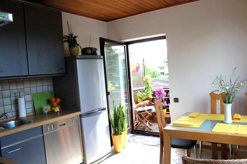 Sunshine-Flat Düsseldorf-Ratingen - Ratingen - Appartement