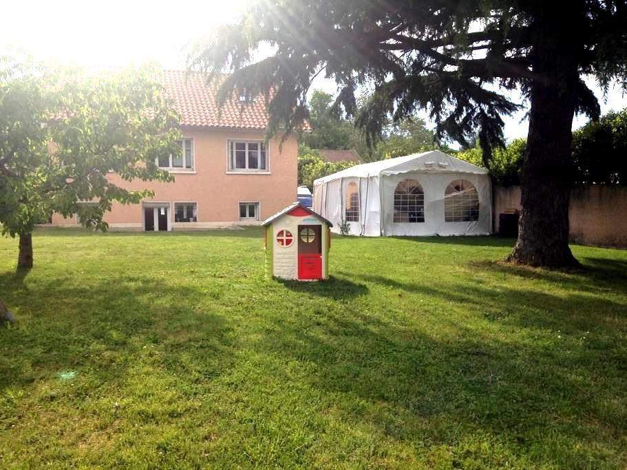 2 chambres avec SDB+WC, idéal pour salons Eurexpo - Pusignan