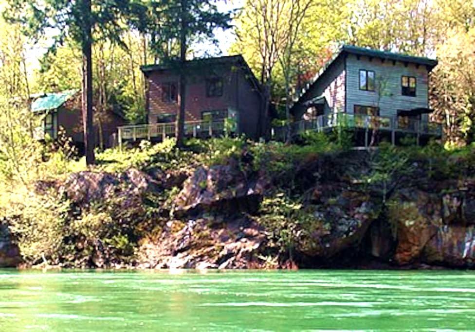 River Vista Vacation Homes- Fir House - Glide - Haus