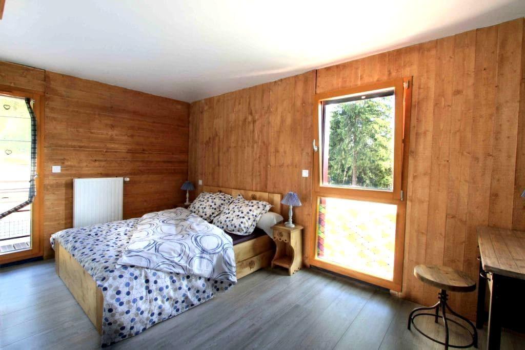 Chambre-La myrtille avec SPA&Sauna - Le Tholy