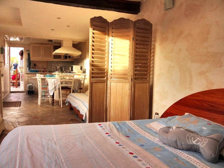 Large studio close to the beach - Ouistreham - บ้าน