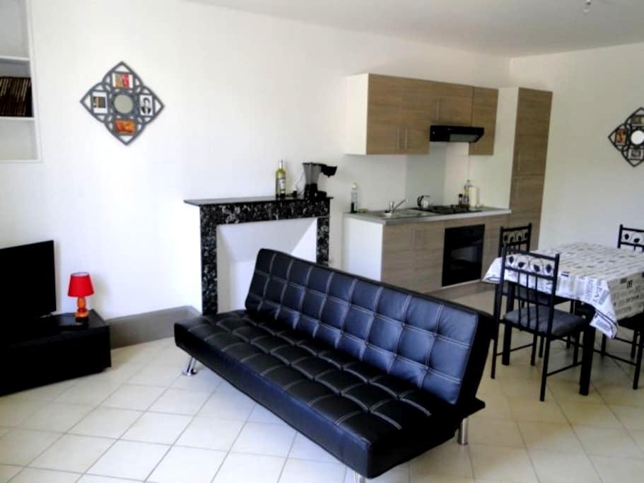 Appartement F3 meublé refait à neuf - Charleville-Mézières - Byt