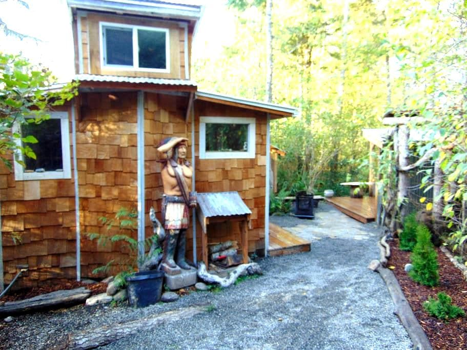 micro cabin in the woods - Port Angeles - Chatka