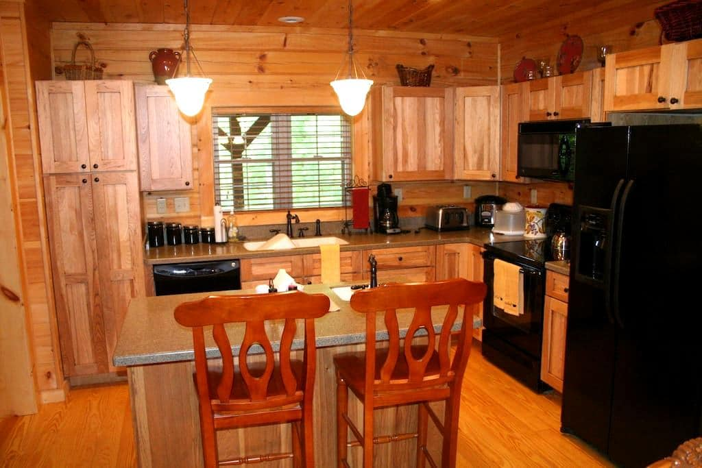 The Beautiful River Point Cabin - Rutherfordton - Hytte