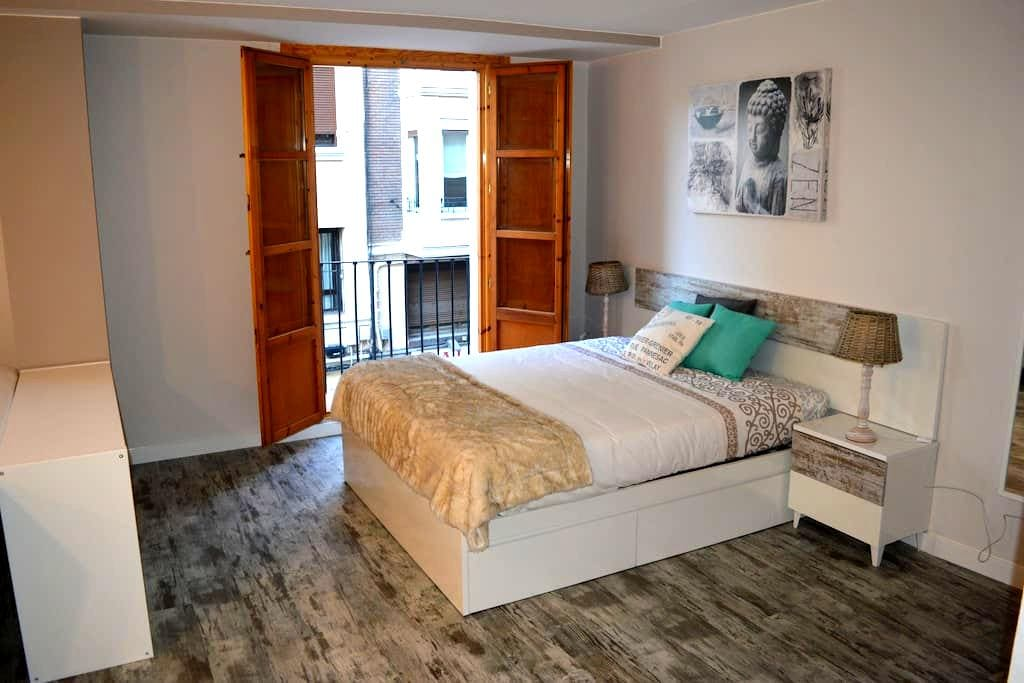 Vintage Loft.50m to Plaza del Pilar - Zaragoza - Appartement
