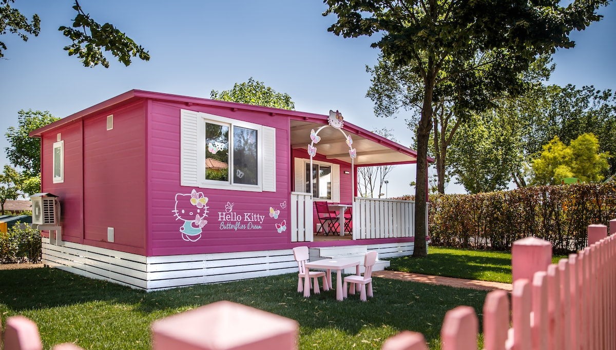Hello Kitty Houses Real Houses hello kitty mobile home - bungalows for rent in fiano romano