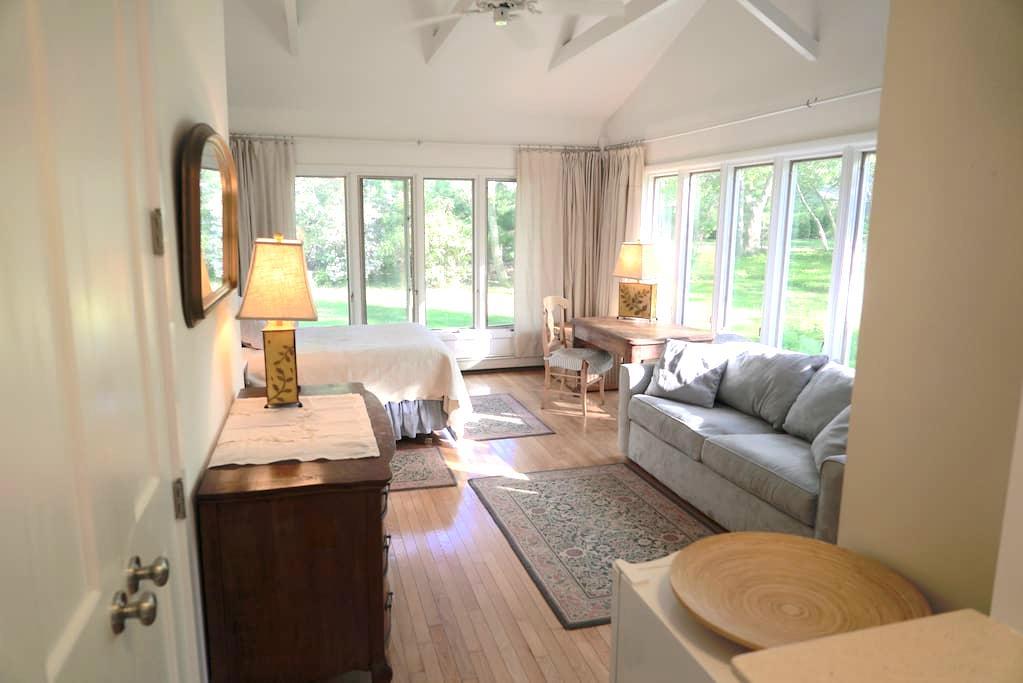 Spacious & Bright Modern Skylit Apartment - Sag Harbor