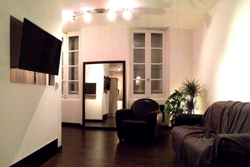 Appart atypique, 50 m du Vigan - Albi - Apartamento